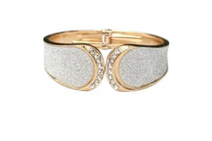 Glitter Dust Hinged Bangle