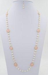 Fresh Water Pearl Long Necklace