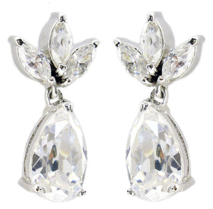 Triple Top Mq Cz Ophra Cz Earring