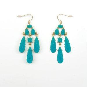 Textured Alloy  Earrings