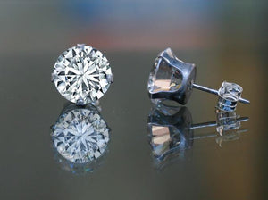 Cubic Zirconia Stone Earrings