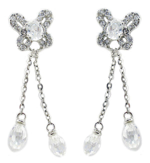 Pave Cz's Earring