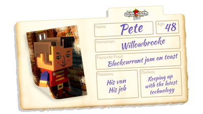 Character Trailer #1 Released | Meet Pete!