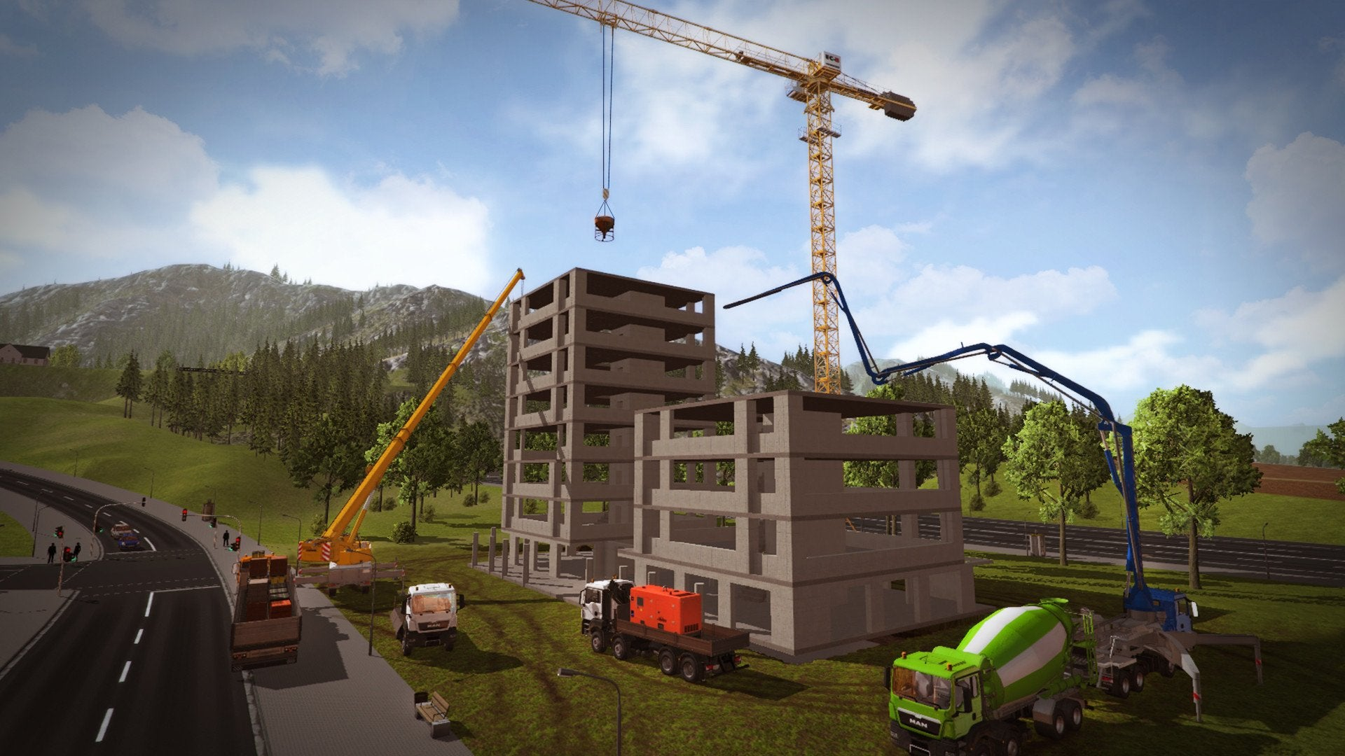 Construction Simulator: Deluxe Edition Contains The Full Version Of The  Popular Construction Simulator And Eight Expansion Packs: LIEBHERR® 150  EC B ...