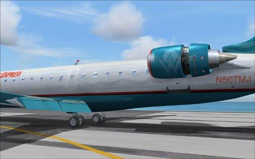 Wilco Fleet: CRJ 2004 Add-On for FS 2004 (PC CD)