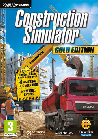 Construction Simulator Gold - Excalibur  - 1