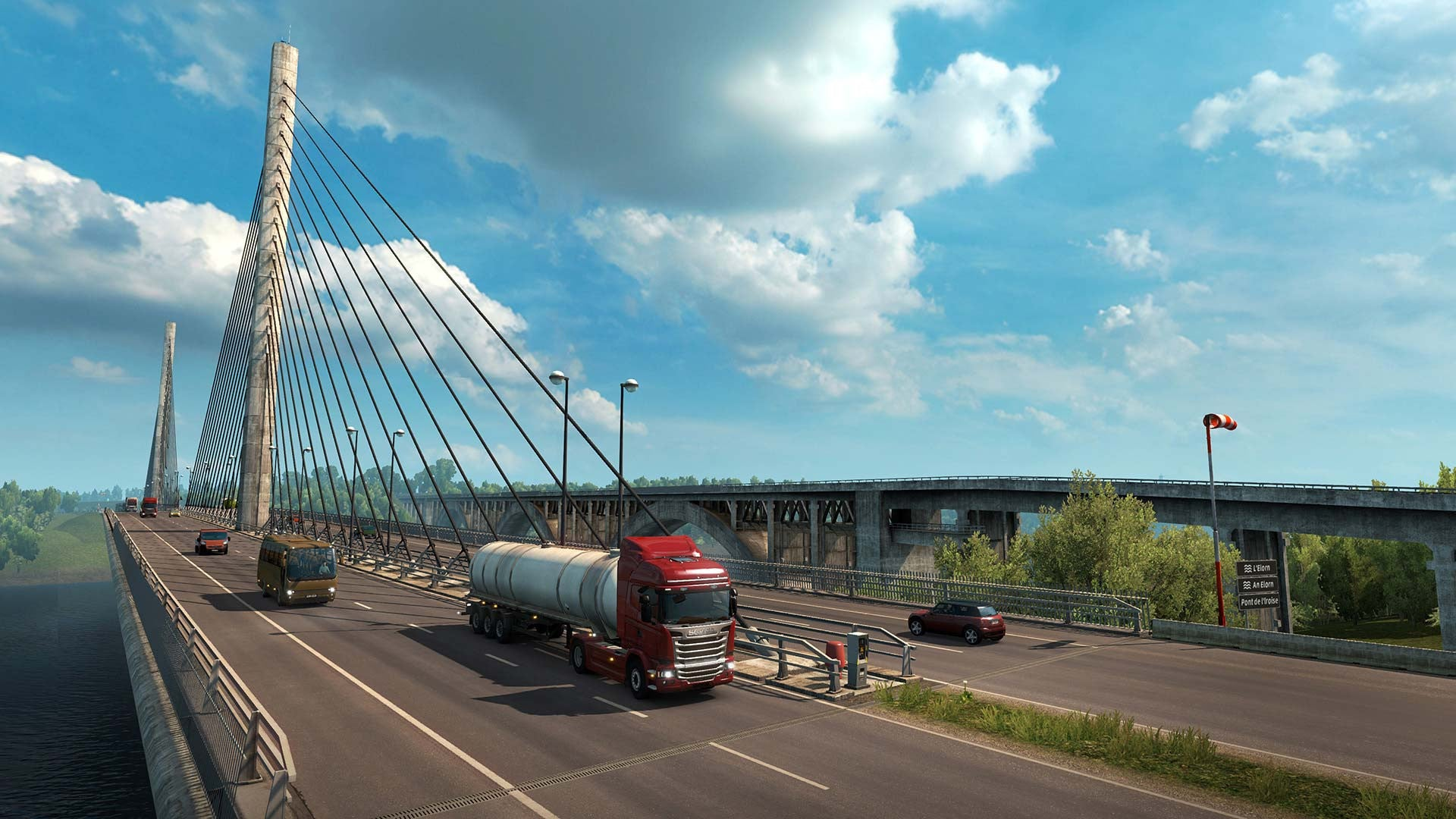 Euro Truck Simulator 2 - Vive La France! Add-on - Excalibur  - 2