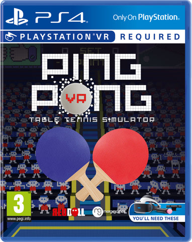VR Ping Pong (Playstation VR) - Available 31st March