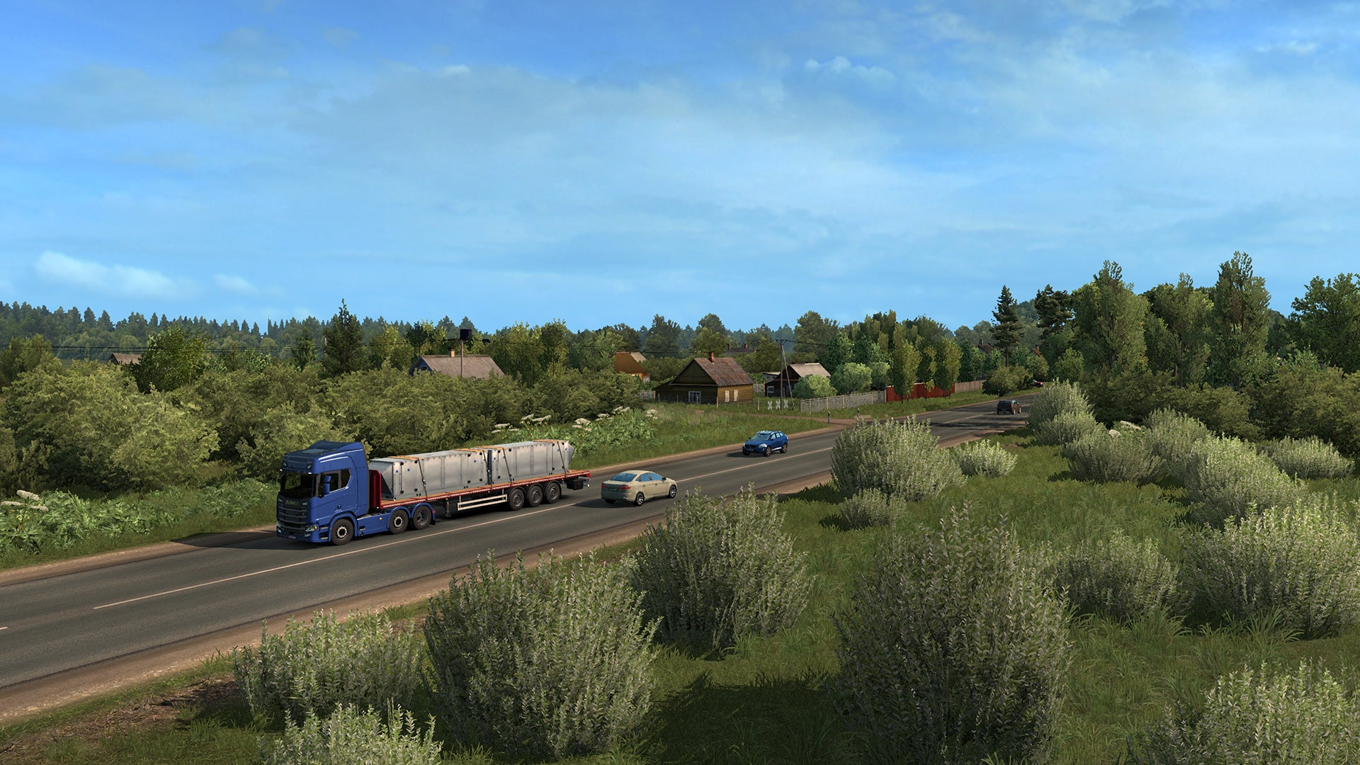 Euro Truck Simulator 2 - Beyond the Baltic Sea Add-on