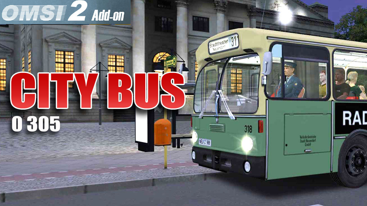 OMSI 2 Add-on - City Bus 0 305 2
