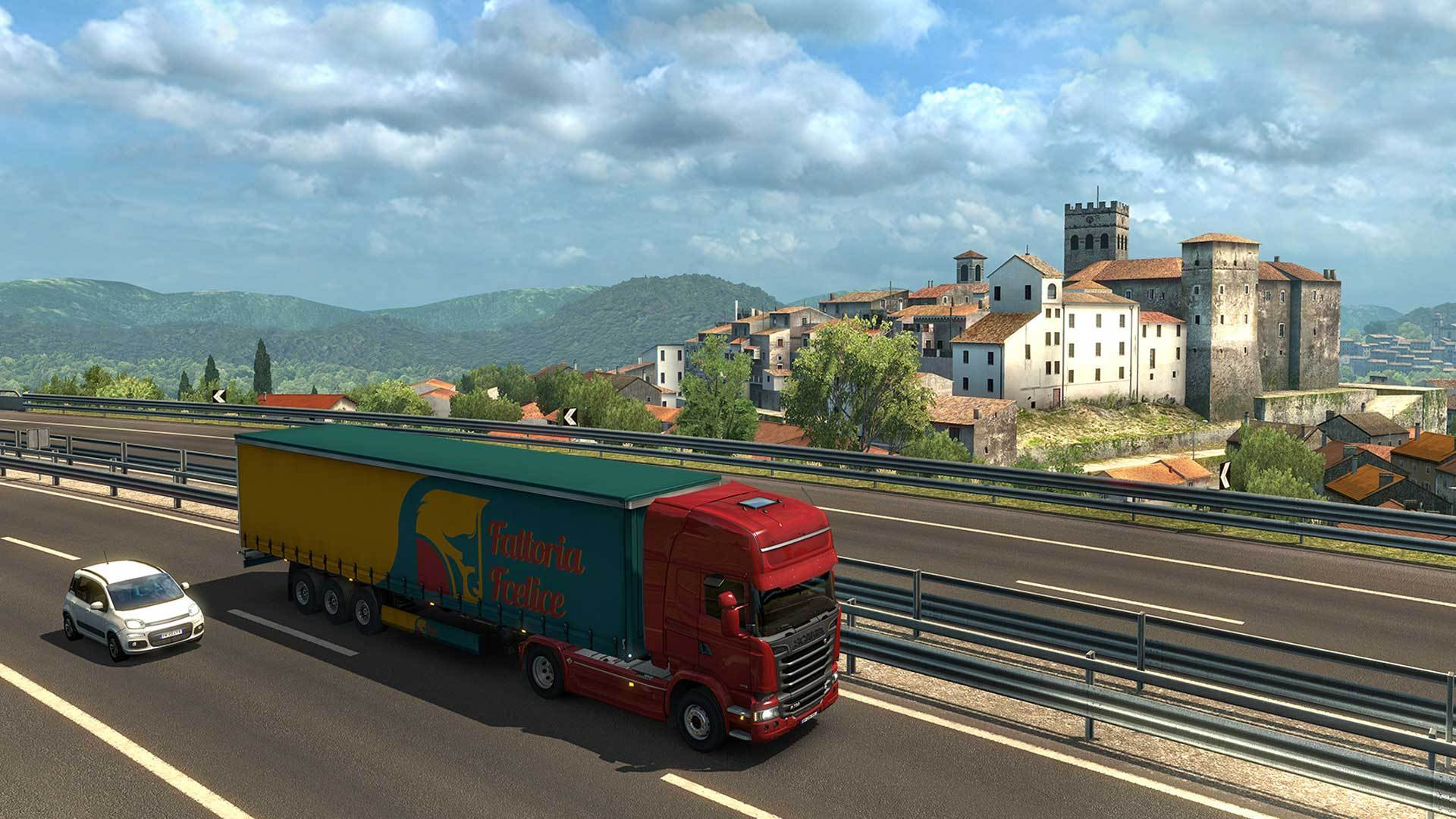 Australia Map Ets2.Euro Truck Simulator 2 Italia Add On