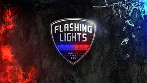 Flashing Lights – Police • Fire • EMS (pre-order)