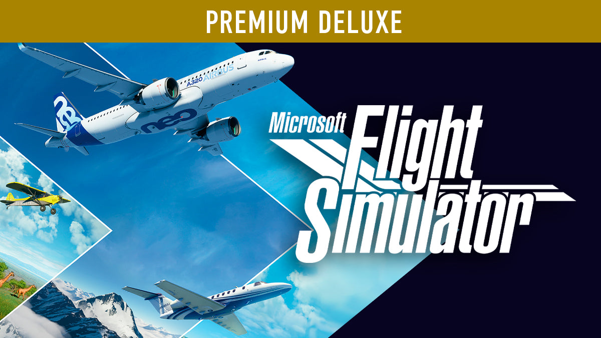 Flight Sim 2020 – Premium Deluxe Edition