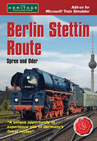 Berlin to Stettin Route - Excalibur