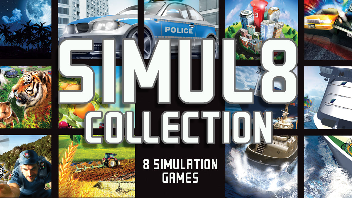 Simul8 - 8 Different Simulation Games