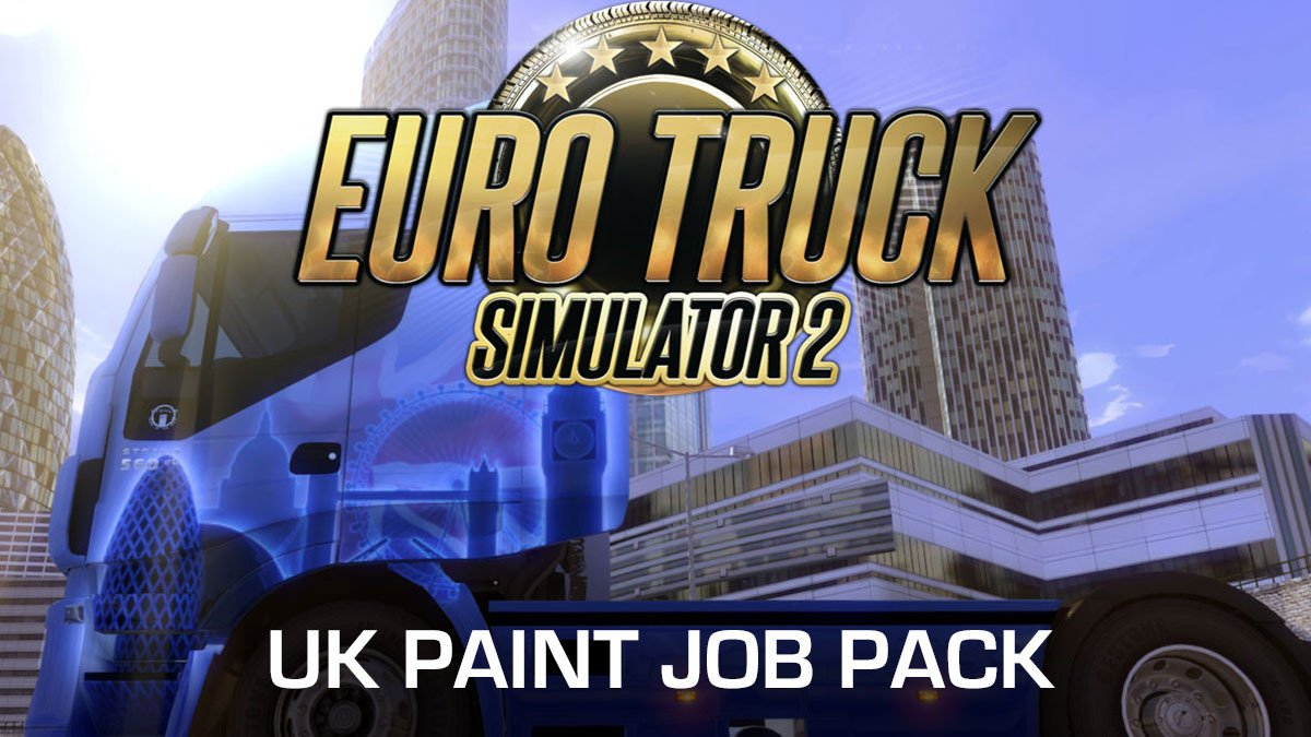 Euro Truck Simulator 2 UK Paint Job Pack