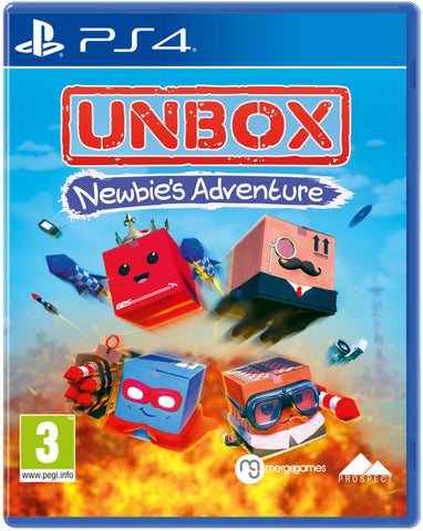 Unbox - Newbie's Adventure (PS4) - Available 16th June