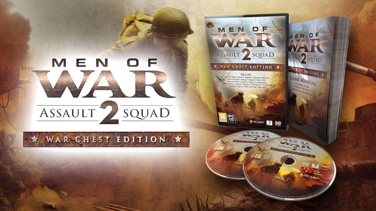 Men of War: Assault Squad 2 – War Chest Edition