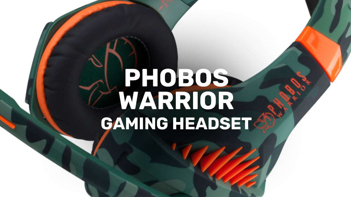PHOBOS WARRIOR Gaming Headset by Blade