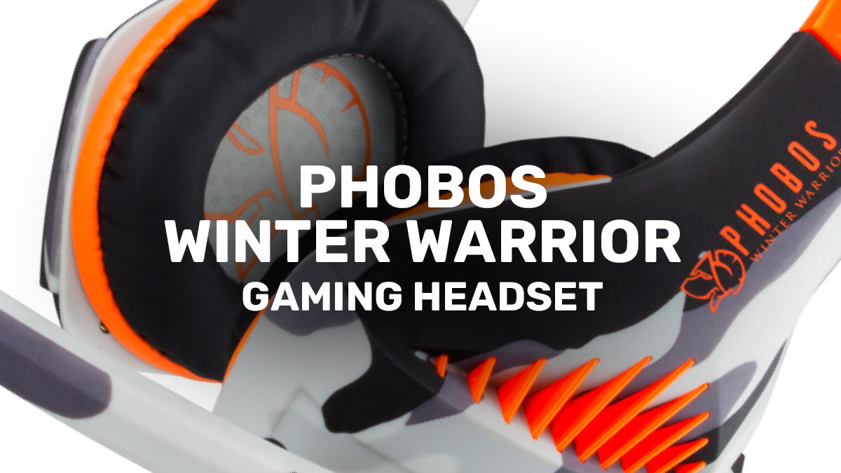 PHOBOS WINTER WARRIOR Gaming Headset by Blade