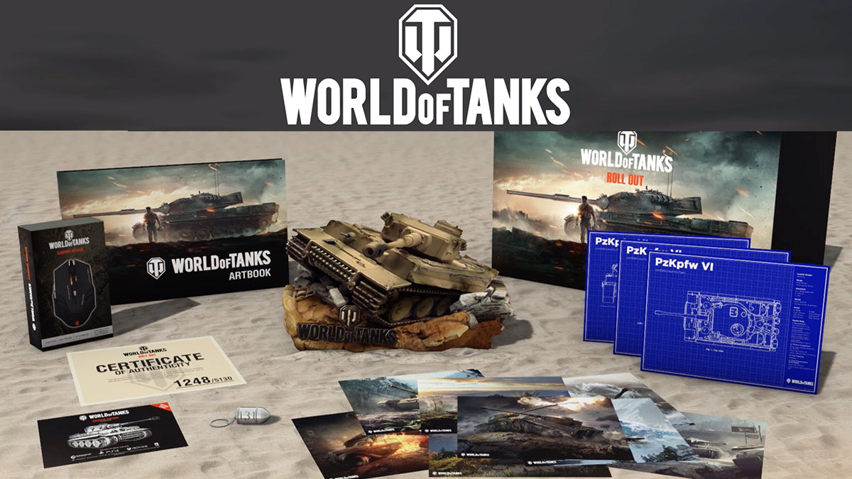 World of Tanks Collector's Edition (UK AVAILABILITY ONLY)