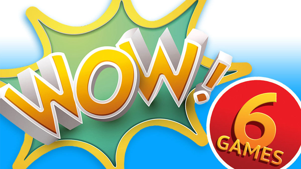 Wow Collection Pack – 6 Games