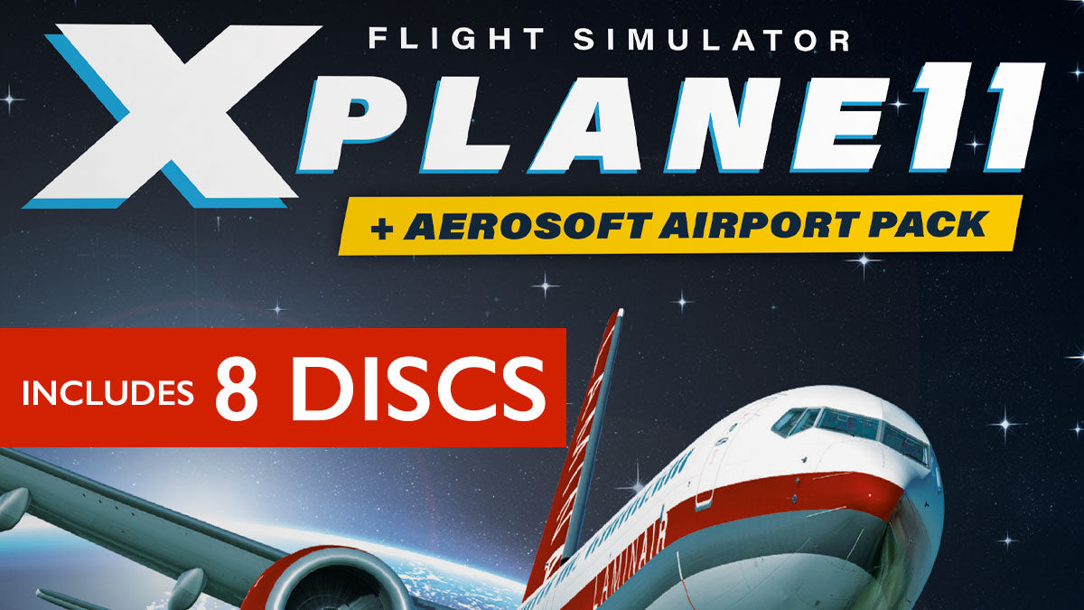 X Plane 11 + Aerosoft Airport Collection (Pre-Order)