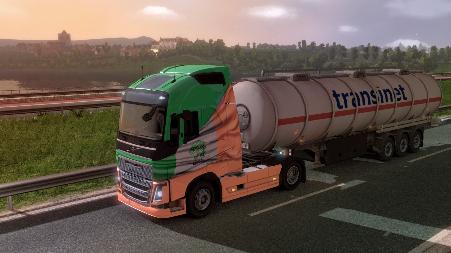 Euro Truck Simulator 2 Irish Paint Job Pack - Excalibur  - 2