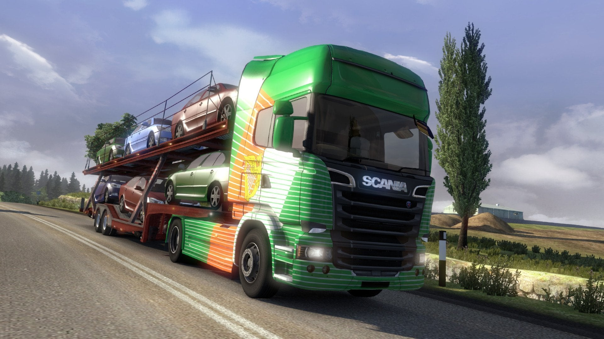 Euro Truck Simulator 2 Irish Paint Job Pack - Excalibur  - 5