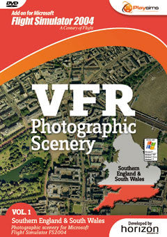 VFR Photo Scenery Vol 1 South England & South Wales 2004 - Excalibur  - 1