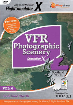 VFR Photographic Scenery Volume 6 - FSX - Excalibur