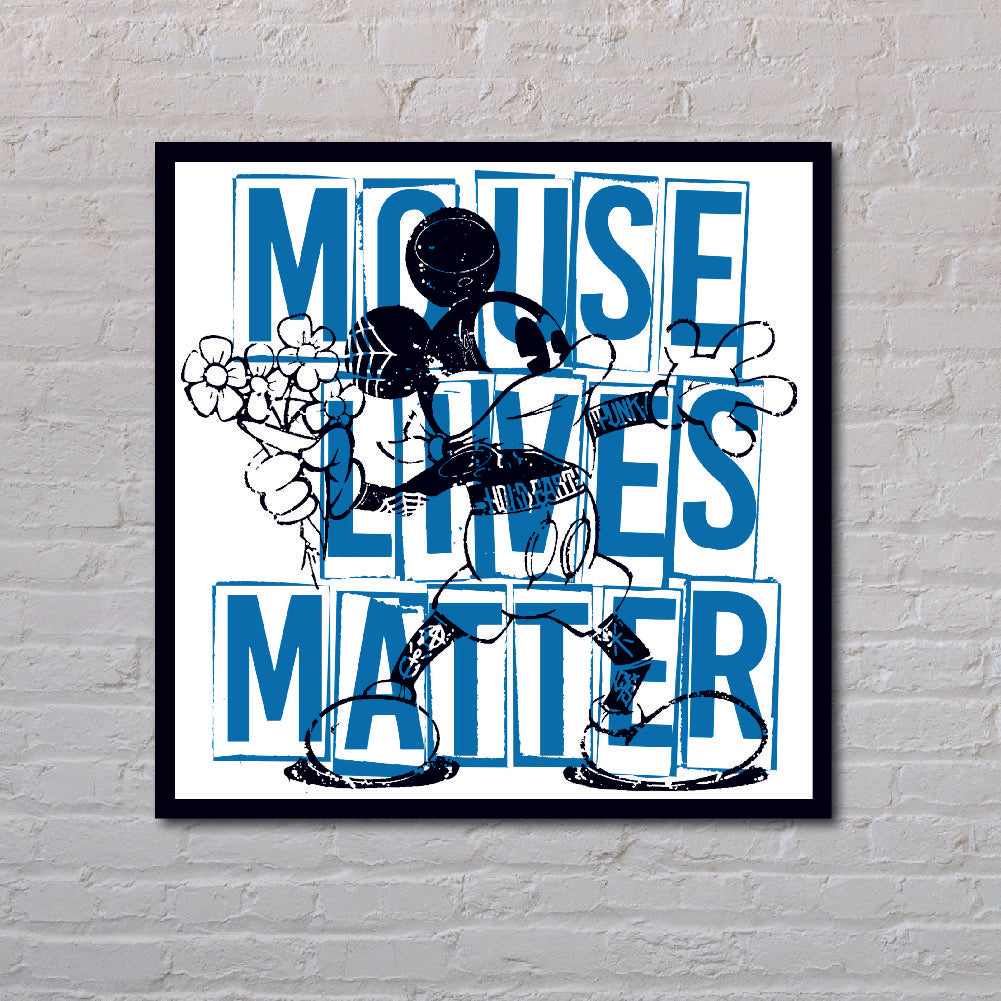 Mouse Lives Matter (Blue)