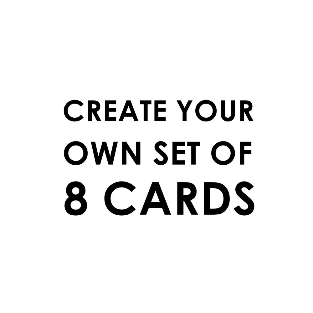 Create Your Own Set of 8
