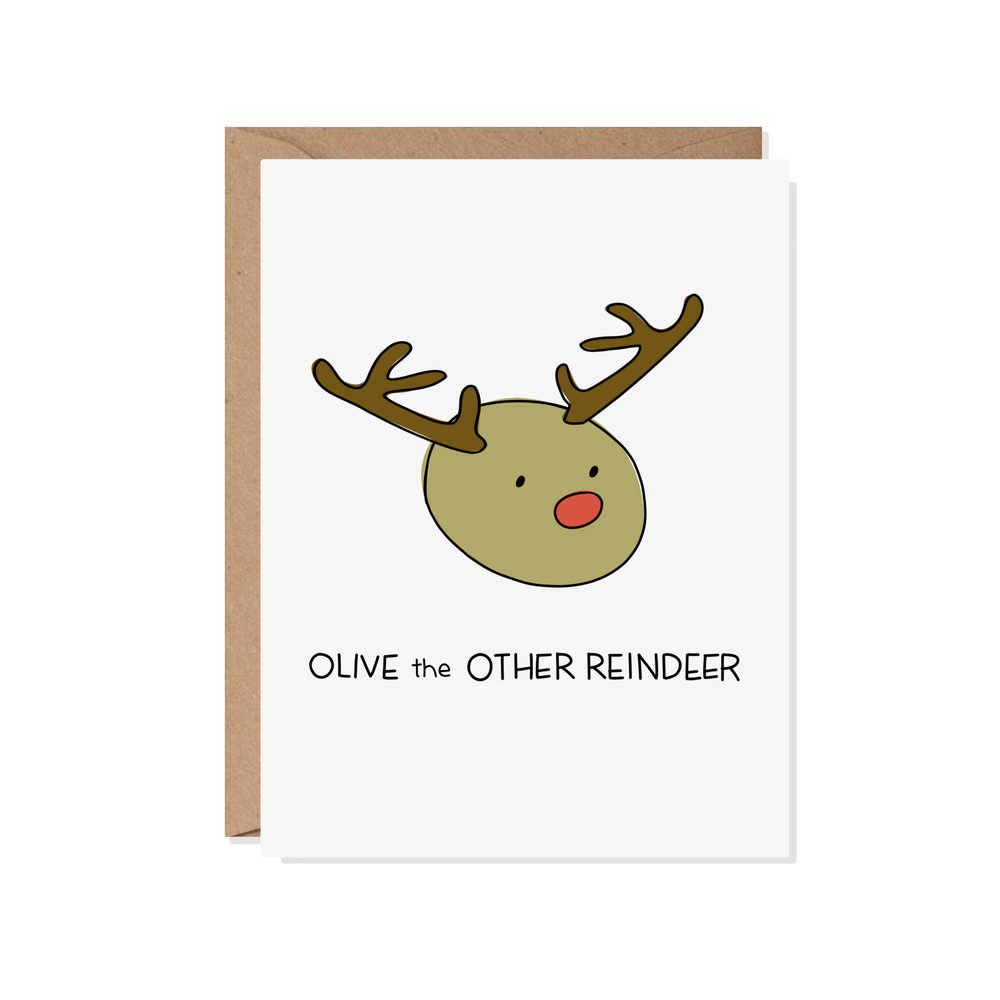 Olive the Other Reindeer