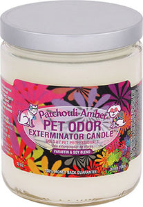 Odor Exterminator Candle Pactchouli Amber