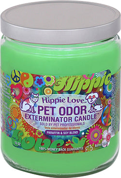 Odor Exterminator Candle Hippy Love