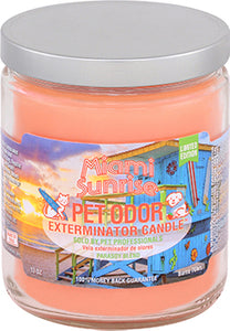 Odor Exterminator Candle Miami Sunrise