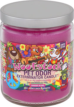 Odor Exterminator Candle Woofstock