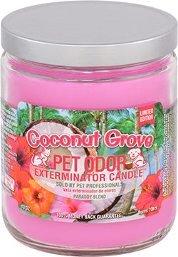 Odor Exterminator Candle Coconut Grove