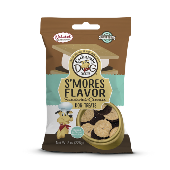 Excl. Dog S'Mores Swich Cookies 8oz