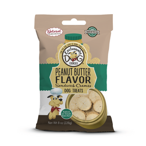 Excl. Dog Pnut Butter Swich Cookies 8oz