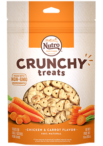 Nutro Crunchy Treat Carrot 10oz