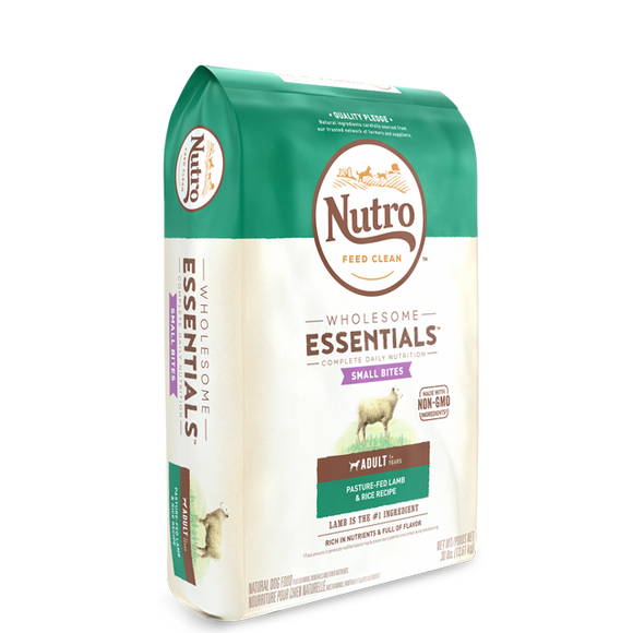 Nutro Whole Ess Lamb & Rice Ad SB 5#