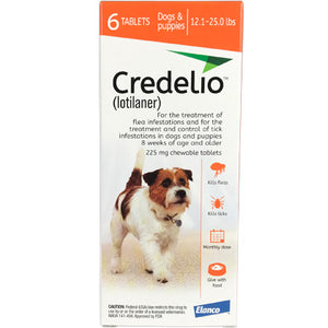 Credelio Chewable Dogs 12.1-25 lbs