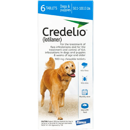 Credelio Chewable Dogs 50.1-100 lbs