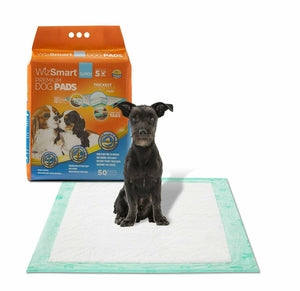 WizSmart All Day Dry Premium Dog and Puppy Training Pads 14 count