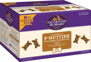 P-Nuttier Mini Biscuits 6# Bulk Box OMH