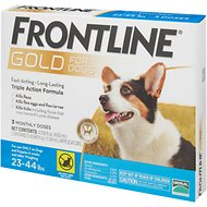 Frontline Gold Dogs 23-44 lbs.