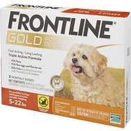 Frontline Gold Dogs 5-22 lbs.