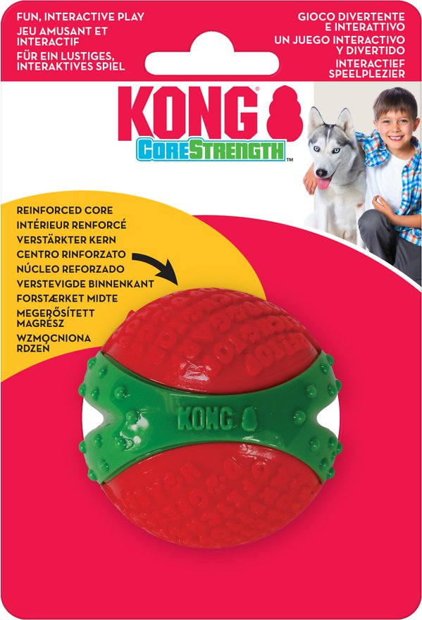 Kong Holiday Core-Strength Ball Medium